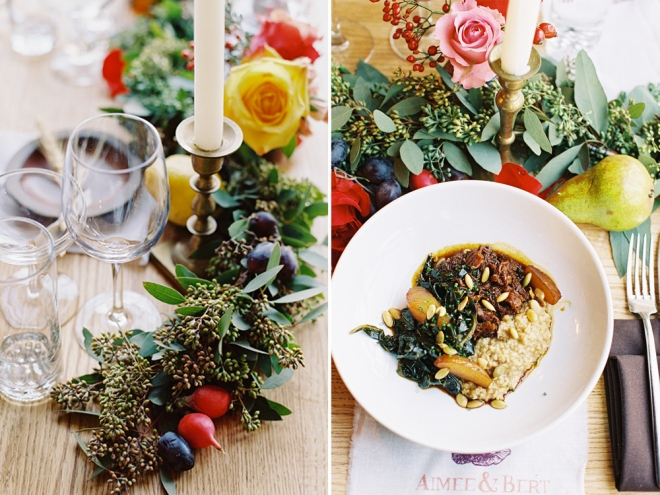 Vegetal Fall Wedding styled by Quelcy // www.Quelcy.com