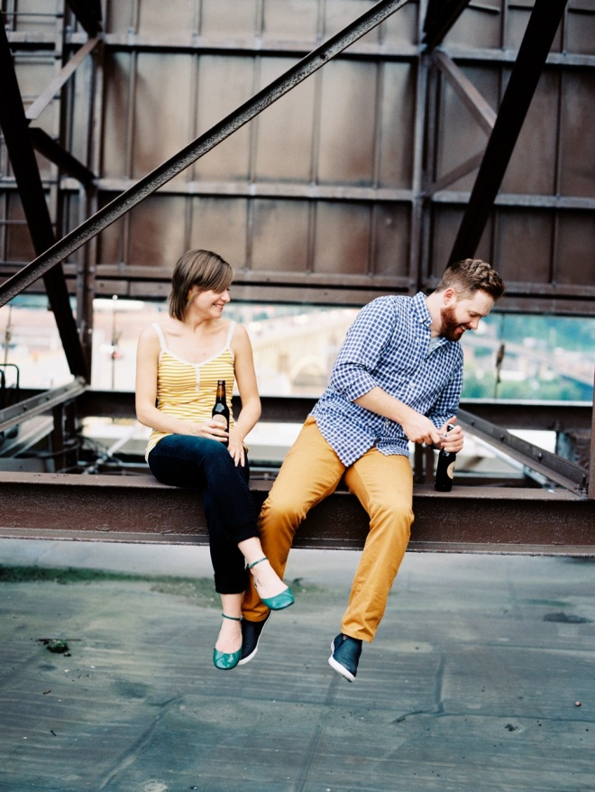 Rooftop Engagement Shoot Styled by Quelcy // www.Quelcy.com