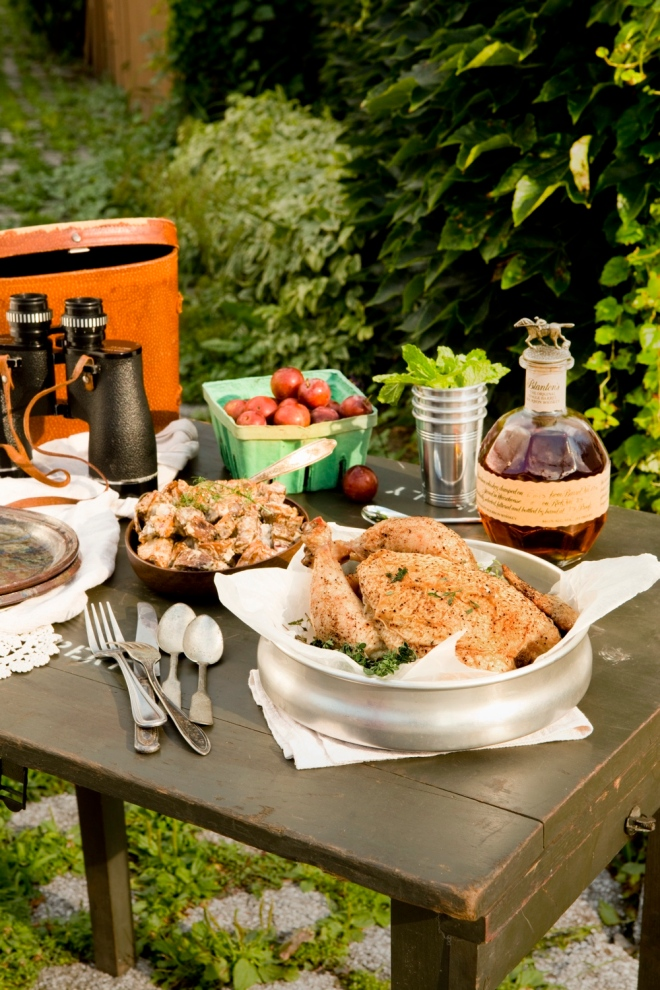 An Historical Tailgate Spread for Table Magazine // www.Quelcy.com