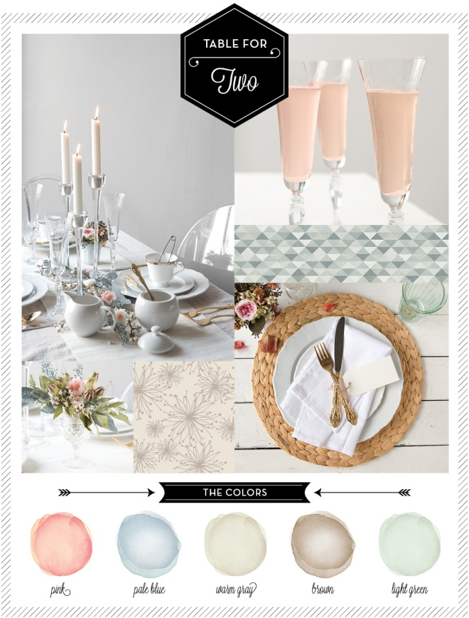 A Pastel Color Palette styled by Quelcy // www.Quelcy.com