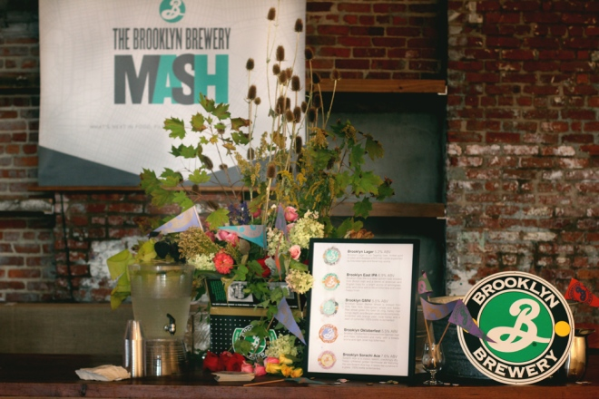 Brooklyn Brewery Event Design // www.Quelcy.com