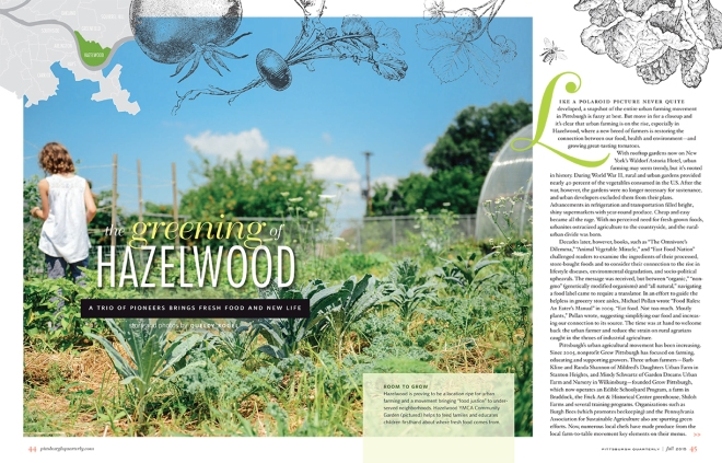 The Greening of Hazelwood // www.Quelcy.com