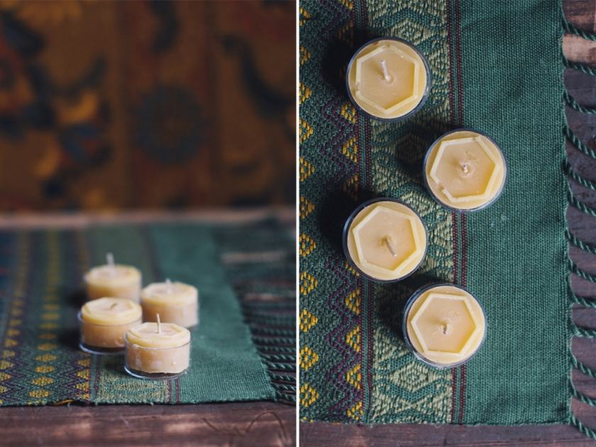 Bee Man Candles Styled by Quelcy