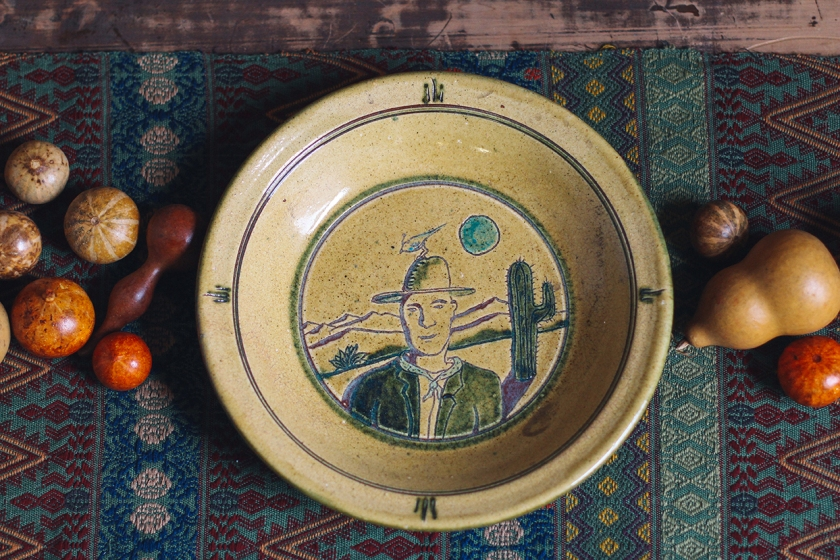 Pie Plate and Gourds 04
