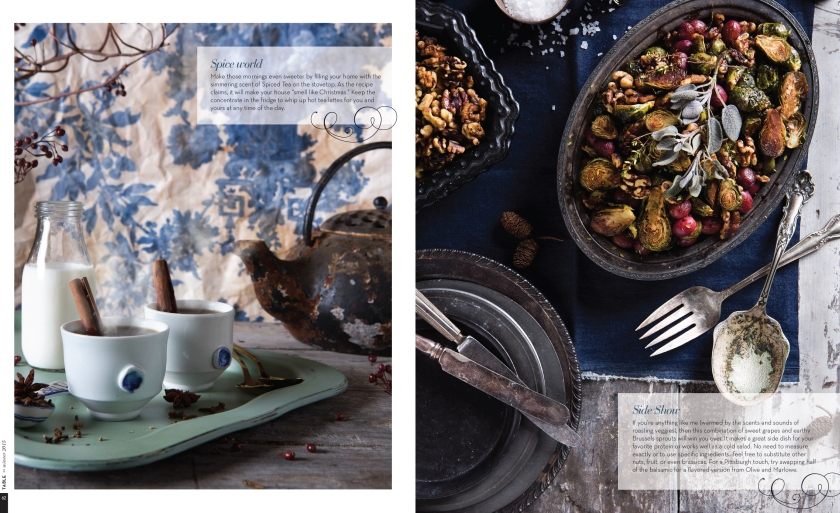 """Food & Prop Styling for """"Big Batch Recipes"""" Story in TABLE Magazine // www.Quelcy.com"""